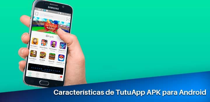 características de tutuapp para android