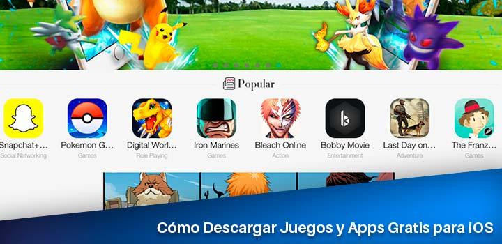 Cómo Descargar con TutuApp Juegos y Apps Gratis para iOS