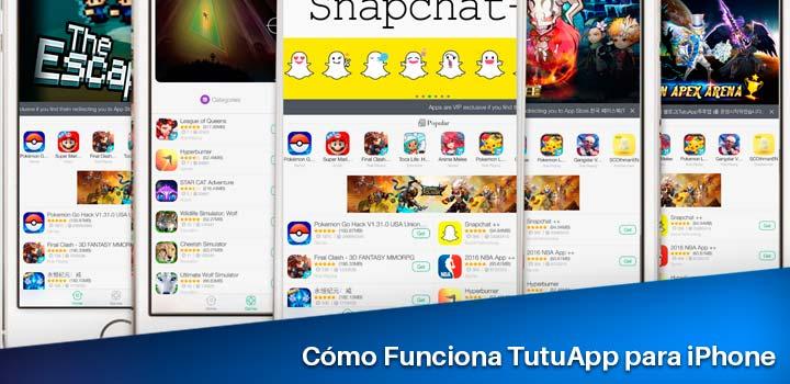 cómo funciona tutuapp para iphone